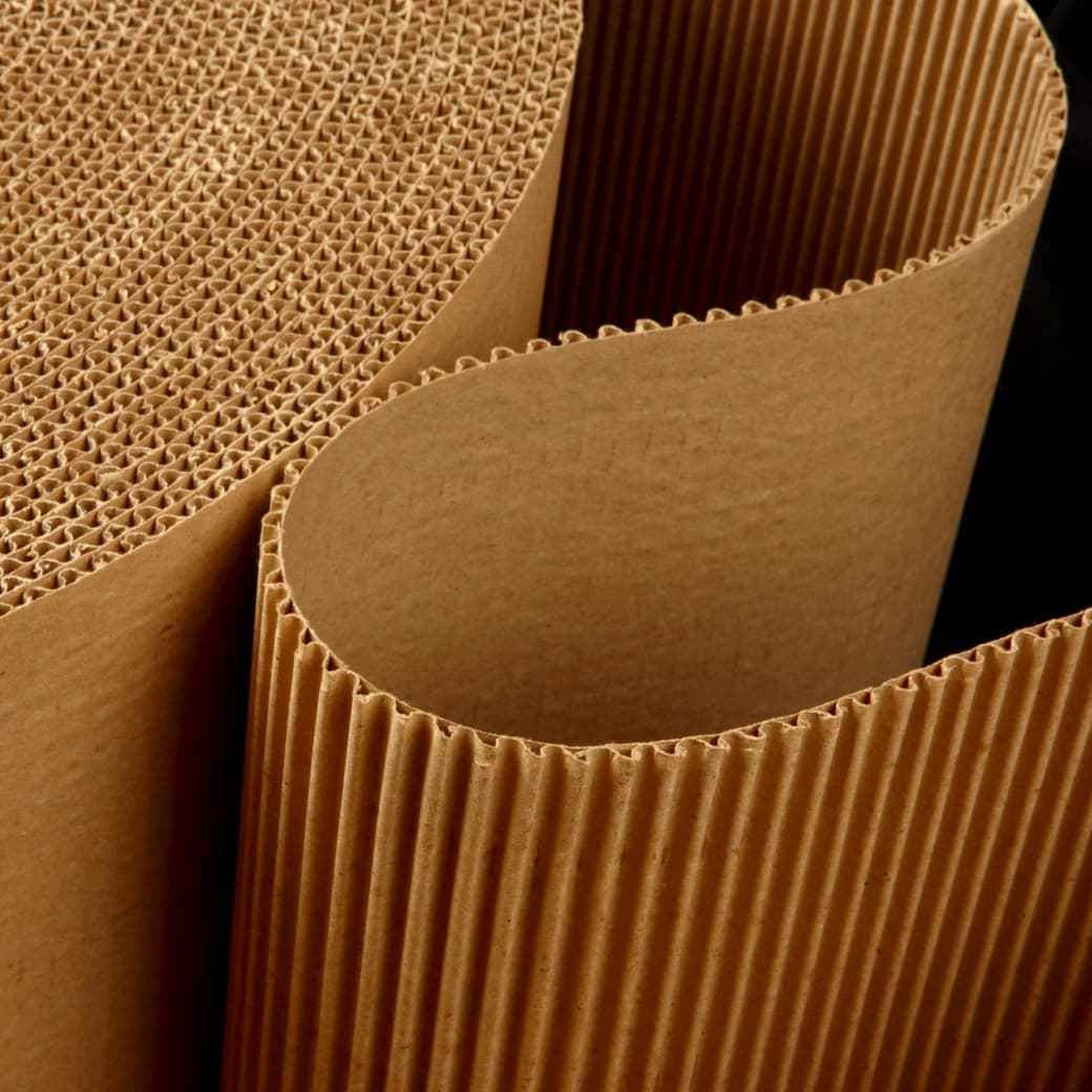 roll of corrugated